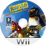 Surf's Up Wii disc (RXUP41)