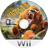 Cabela's Dangerous Adventures Wii disc (RXZP52)