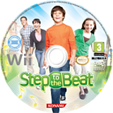 Step to the Beat Wii disc (RY6PA4)
