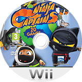 Ninja Captains Wii disc (RY7PHZ)