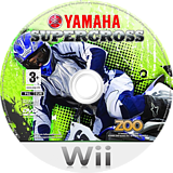 Yamaha Supercross Wii disc (RYXP7J)