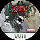 The Legend of Zelda: Twilight Princess Wii disc (RZDP01)