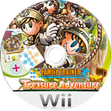 Family Trainer: Treasure Adventure Wii disc (S2APAF)