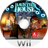 Haunted House Wii disc (S2HP70)
