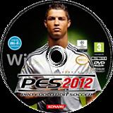 Pro Evolution Soccer 2012 Wii disc (S2PPA4)