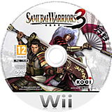 Samurai Warriors 3 Wii disc (S59P01)