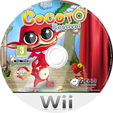 Cocoto Festival Wii disc (SCFPNK)