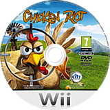 Chicken Riot Wii disc (SCRPJH)