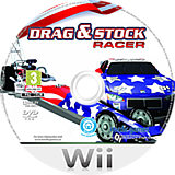 Drag & Stock Racer Wii disc (SDRPNG)