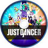 Just Dance 2018 Wii disc (SE8P41)