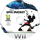 Disney Epic Mickey Wii disc (SEMP4Q)