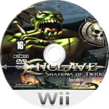 Enclave: Shadows of Twilight Wii disc (SENPZX)