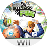 Family Party: Fitness Fun Wii disc (SFKPAF)