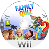 Family Quiz Wii disc (SG5PSV)
