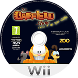The Garfield Show: Threat of the Space Lasagna Wii disc (SG7PVL)