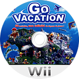 Go Vacation Wii disc (SGVPAF)