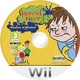 Horrid Henry: Missions of Mischief Wii disc (SHMPLR)