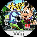 Hugo: Magic in the Troll Woods Wii disc (SHOXKR)