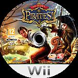 Sid Meier's Pirates! Wii disc (SIDP54)