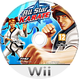 All Star Karate Wii disc (SKTP78)