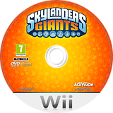 Skylanders: Giants Wii disc (SKYX52)