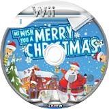We Wish You a Merry Christmas Wii disc (SMCPXT)