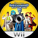 Megamind:Mega Team Unite Wii disc (SMGP78)