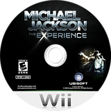 Michael Jackson: The Experience - Walmart Edition Wii disc (SMOX41)