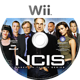 NCIS: The Game Wii disc (SNBP41)