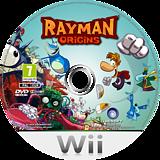 Rayman Origins Wii disc (SOJP41)