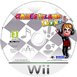 Games Island Wii disc (SPIP18)