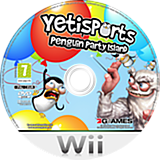 Yetisports: Penguin Party Island Wii disc (SPYDSV)