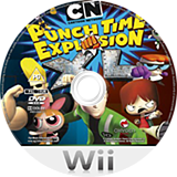 Cartoon Network: Punch Time Explosion XL Wii disc (SQLPGN)