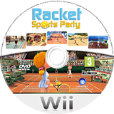 Racket Sports Party Wii disc (SRQP41)
