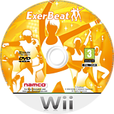 ExerBeat:Gym Class Workout Wii disc (SRYPAF)