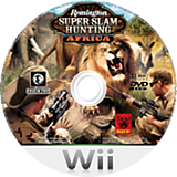 Remington Super Slam Hunting: Africa Wii disc (SS7URN)