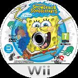 SpongeBob SquigglePants Wii disc (SS8P78)