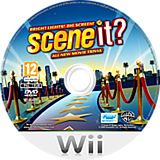 Scene It? Bright Lights! Big Screen! Wii disc (SSCFWR)