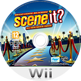 Scene It? Bright Lights! Big Screen! Wii disc (SSCSWR)