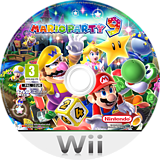 Mario Party 9 Wii disc (SSQP01)