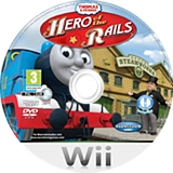Thomas & Friends: Hero of the Rails Wii disc (ST4XNX)