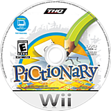Pictionary Wii disc (STAU78)