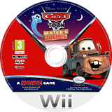 Cars Toon: Mater's Tall Tales Wii disc (STOX4Q)