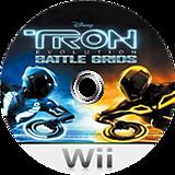 Tron: Evolution - Battle Grids Wii disc (STRP4Q)