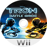Tron: Evolution - Battle Grids Wii disc (STRP4Q)