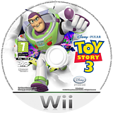 Toy Story 3 Wii disc (STSX4Q)