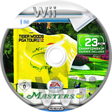 Tiger Woods PGA Tour 12:The Masters Wii disc (STXP69)