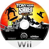 Tony Hawk: Shred Wii disc (STYP52)