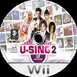 U-Sing 2 Wii disc (SU3FMR)
