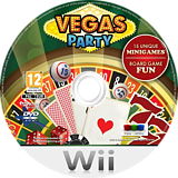 Vegas Party Wii disc (SVPPNJ)